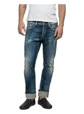 Waitom Regular Straight Leg Tapered Calf Jean M983.000.17B 720.009