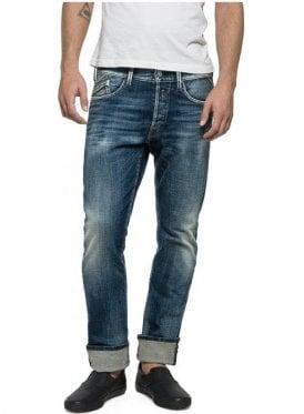 Waitom Regular Straight Leg Tapered Calf Jean M983.000.17B 720.009