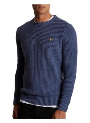 Rib Jumper Indigo Blue