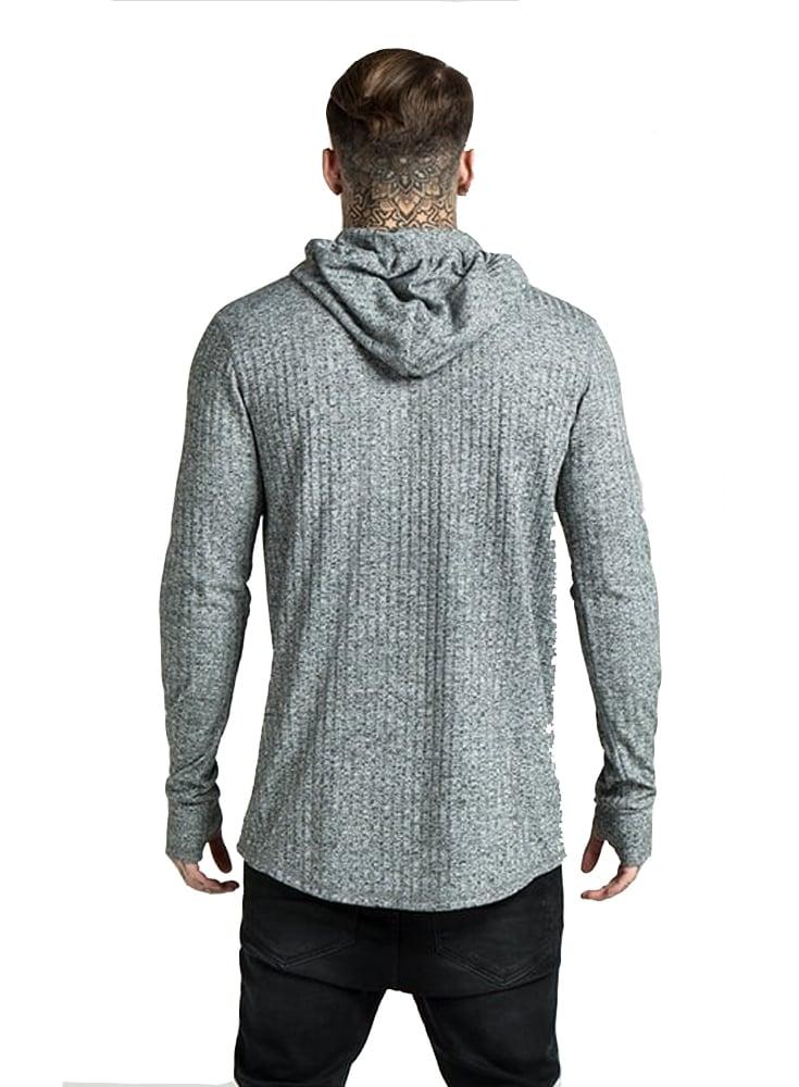Knit hoodies