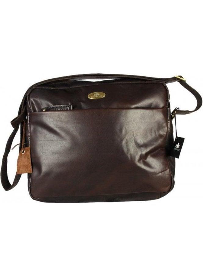 ROWALLAN New Baltimore Zip Top Bag Brown