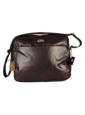 New Baltimore Zip Top Bag Brown