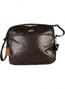 New Baltimore Zip Top Bag Brown