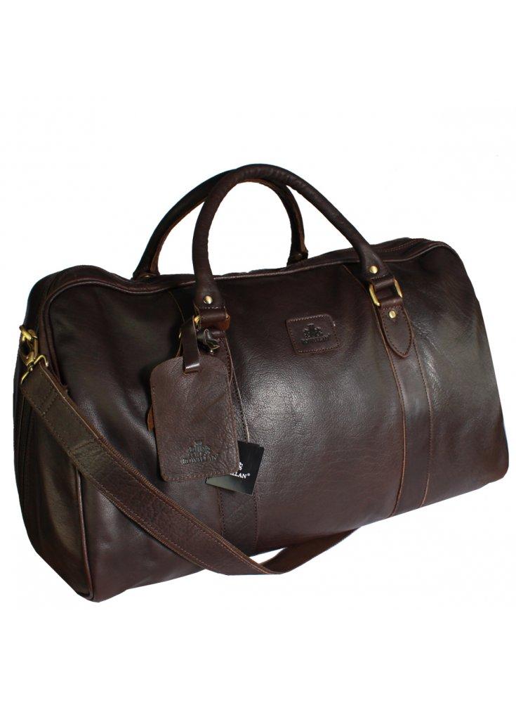 533c3281a9 Rowallan Premium Leather Large Tote Bag Brown