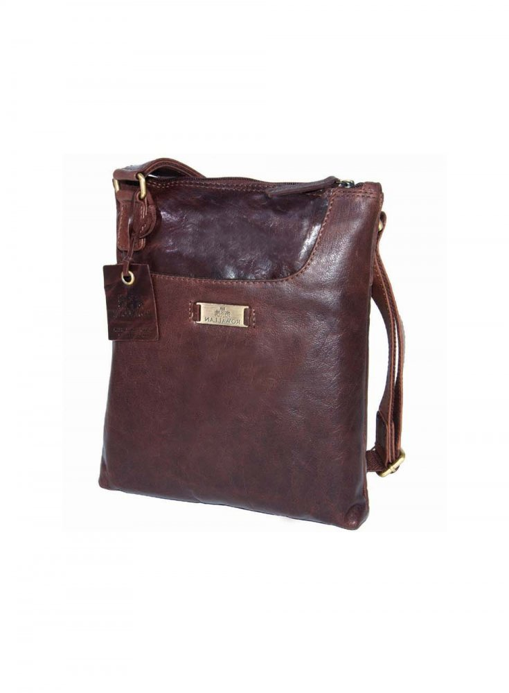 Rowallan Brown Cross Bodybag