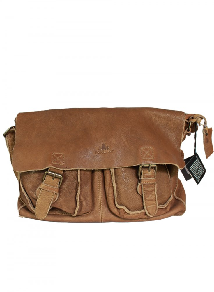 Rowallan Tan Messenger Bag