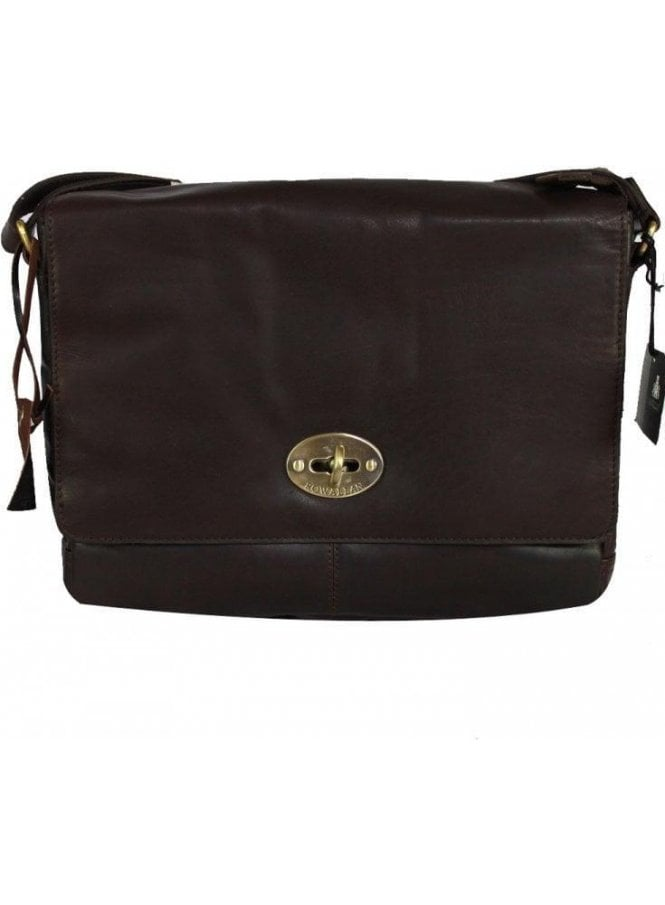 ROWALLAN Shangri-la Flap Over Brown