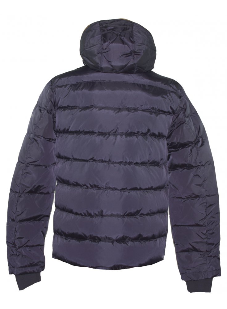 scotch and soda blue down filled puffer jacket. Black Bedroom Furniture Sets. Home Design Ideas