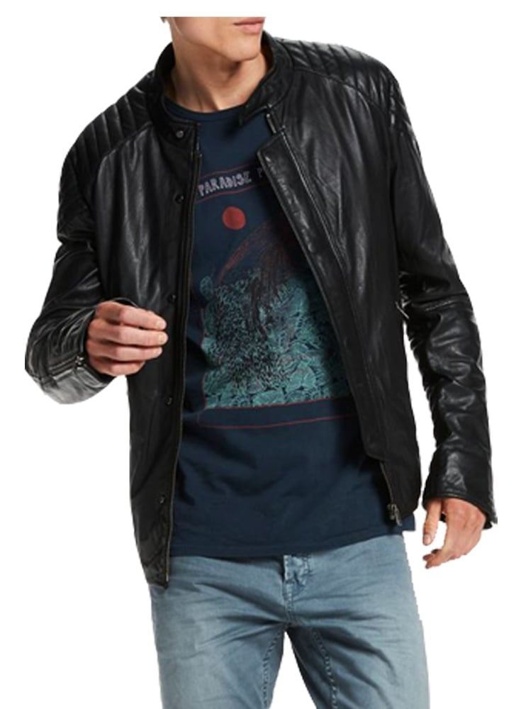 soda scotch and soda scotch soda biker style leather jacket. Black Bedroom Furniture Sets. Home Design Ideas