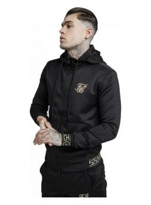 Cartel Agility Zip Through Track Top - Black