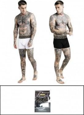 Cartel Boxer Shorts Black/white