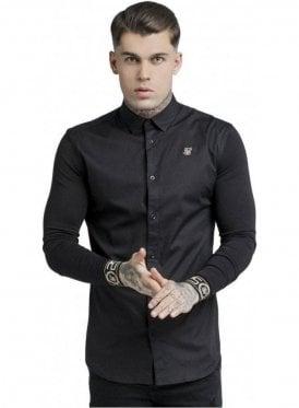 L/S Cartel Shirt - Black & Gold