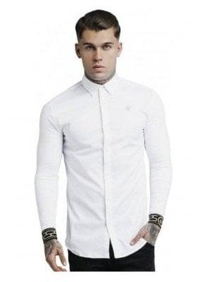 L/S Cartel Shirt - White & Gold