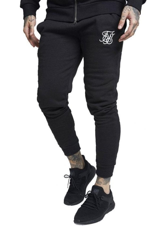 SIK SILK Muscle Fit Jogger Black