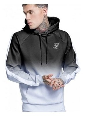Overhead Vapour Fade Track Top Black/grey