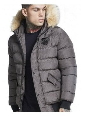Parachute Jacket Grey