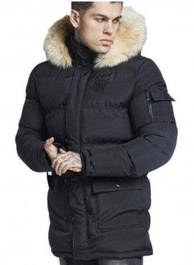 Puffa Parka Jacket Black