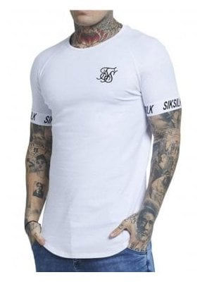 Sik Silk Raglan Tech Tee white