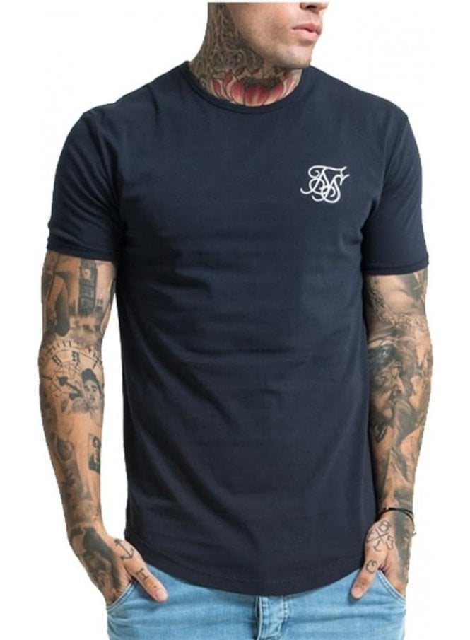 SIK SILK S/s Gym Tshirt Navy