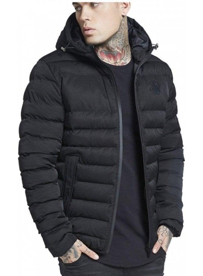 SIK SILK Target Jacket Black