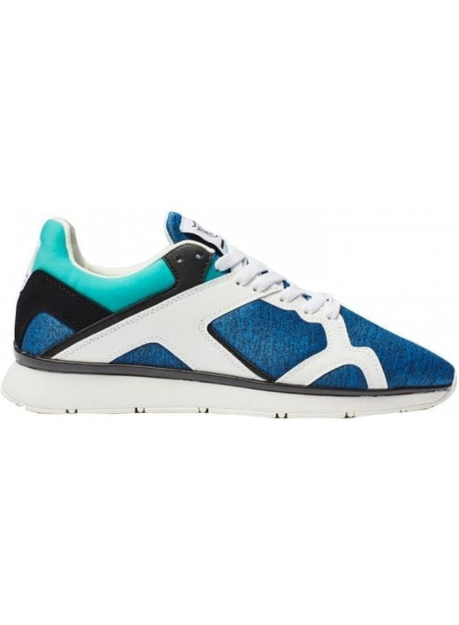 SIK SILK Zonal Runner Blue Trainers