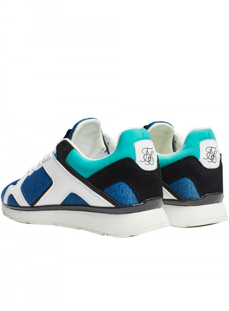 SIKSILK ZONAL RUNNER - Trainers - blue OMYCx