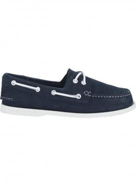 A/o 2-eye Washable Boating Deck Shoe Navy