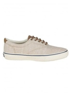 Striper Ll Linen Canvas Trainer Shoe Chino