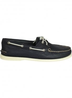 Sperry top sider authentic original boat shoe 2-eye Shoe Navy