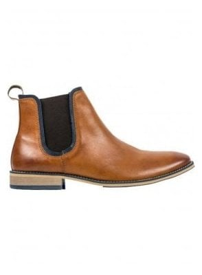 Stanford Chelsea Leather Boot Tan