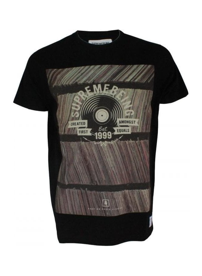 SUPREMEBEING Crate Digging Black