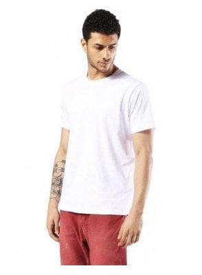 T-rivers  Crew Neck Tshirt White
