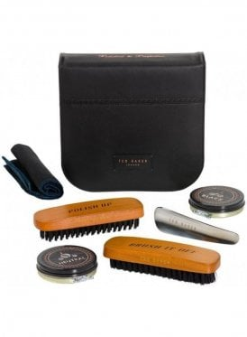 Tour De Space And Time Shoe Shine Kit Black