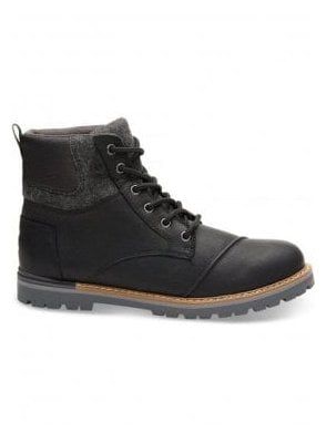 Ashland Waterproof Leather Boot Black