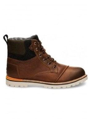 Ashland Waterproof Leather Boot Brown