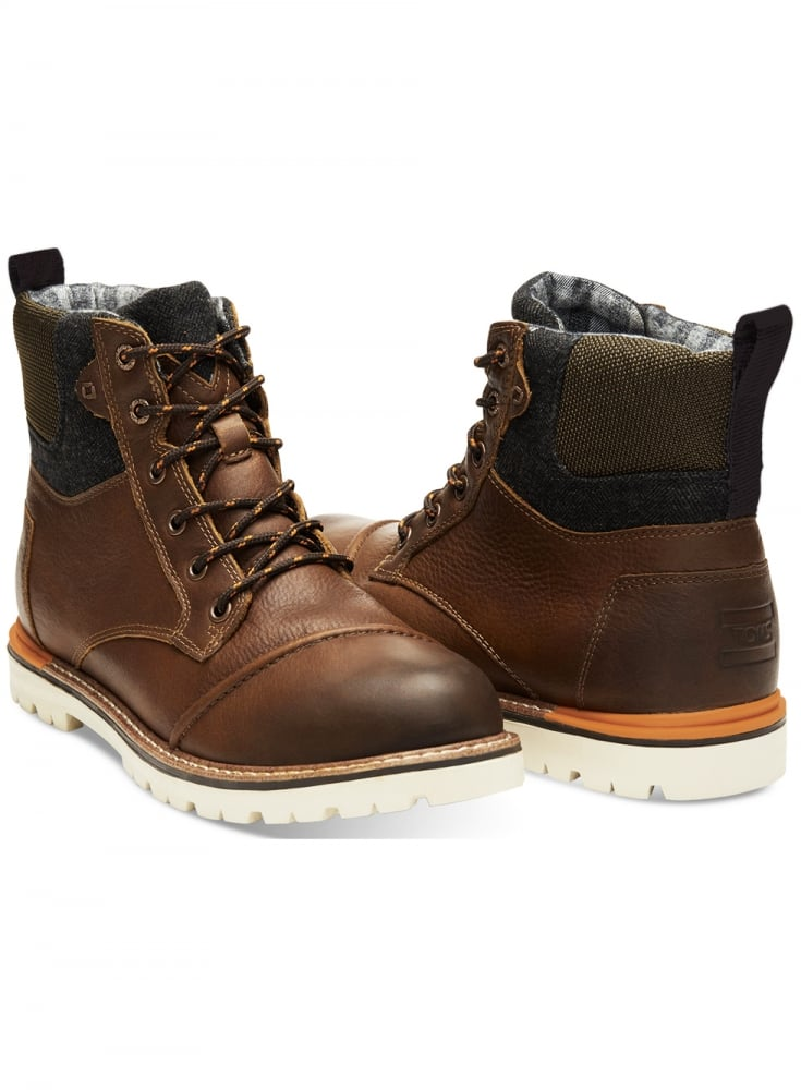 TOMS Ashland Waterproof Leather Boot