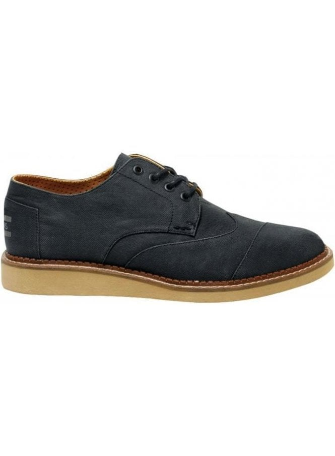 TOMS Aviator Twill Brogue Ash