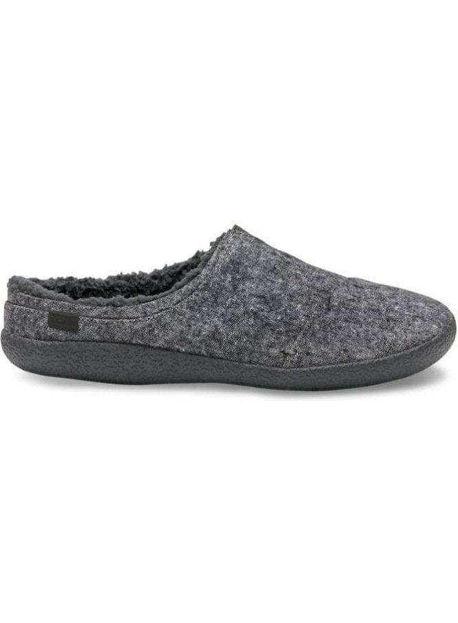 TOMS Berkeley Slub Textile Slippers Grey Slub