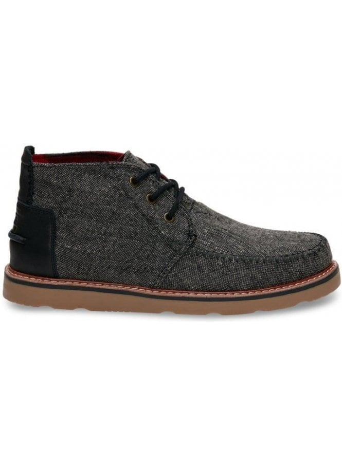TOMS Chukka Fleck Design Boot Charcoal