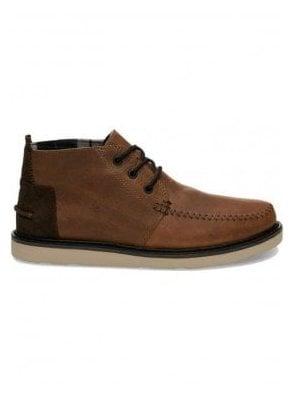 Chukka Waterproof Leather Boot Brown