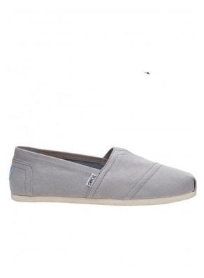 Classic Canvas Slip On Footwear Drizzle Grey