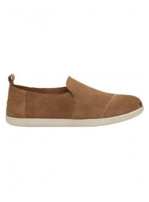 Deconstructed Alpargata Suede Slip On Pump Toffee Suede