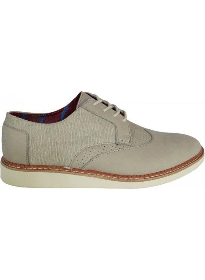 TOMS Leather Classic Brogue Taupe
