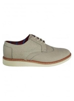 Leather Classic Brogue Taupe