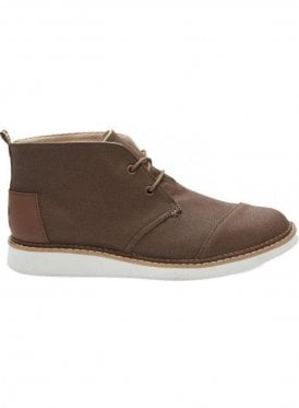 Mateo Chukka Canvas Boot Dark Earth