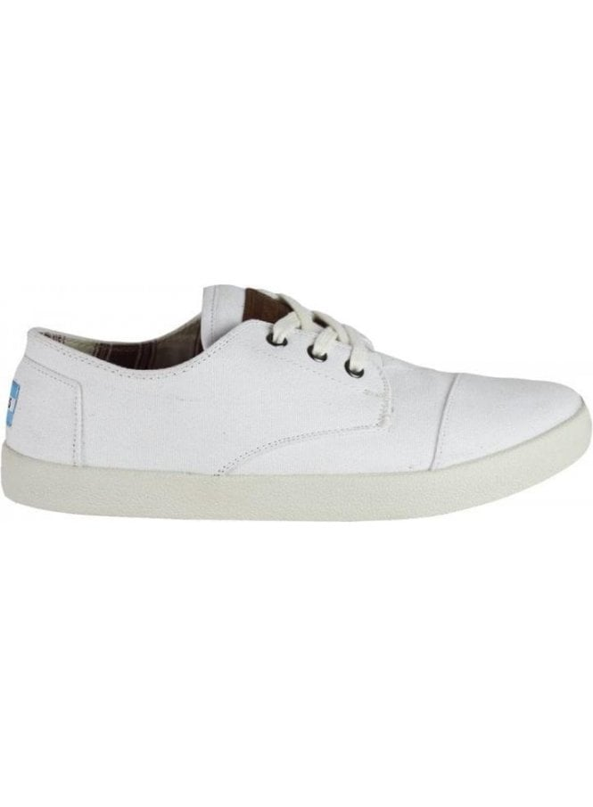 TOMS Paseo Canvas White