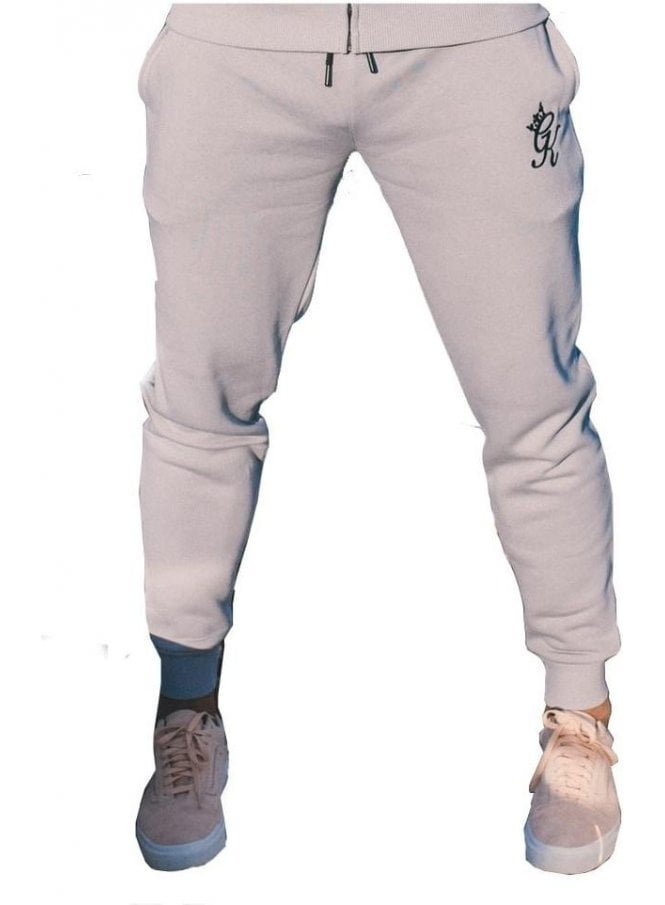 GYM KING Tracksuit Bottoms Drizzle Grey
