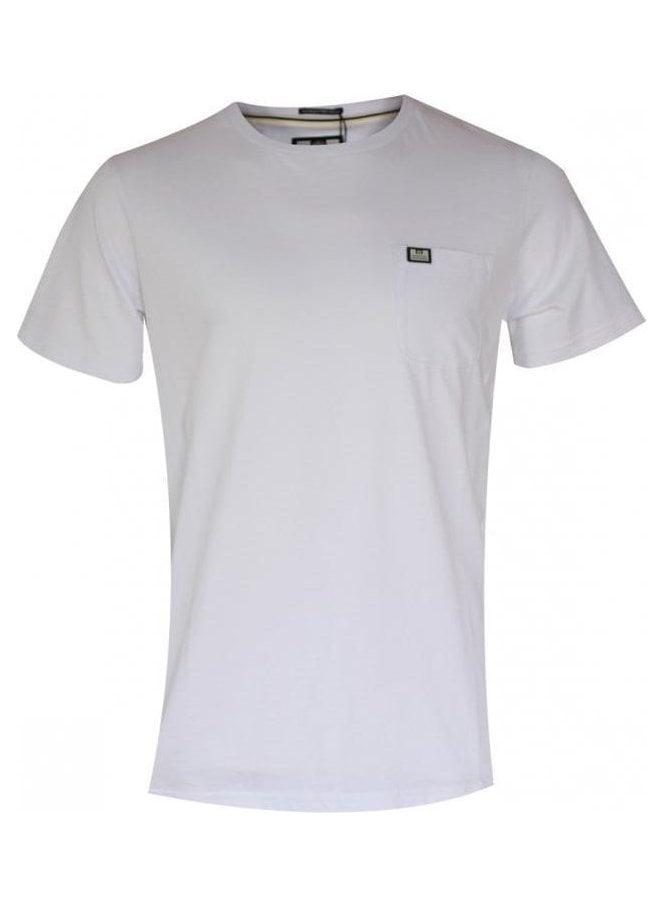 WEEKEND OFFENDER Griffiths Tshirt White
