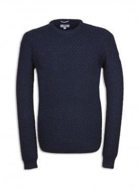 Hurrell Chunky Sweater Navy