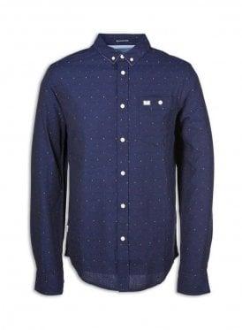 Nice Long Sleeve Shirt Navy